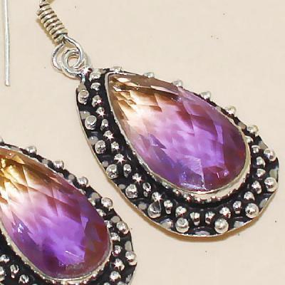 Trm 104c boucles pendants oreilles tourmaline achat vente bijou monture argent 925