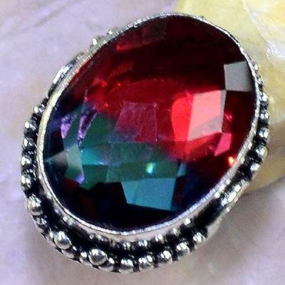 Trm 168a bague t58 tourmaline bijoux renaissance medievale argent 925 vente achat