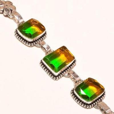 Trm 218c bracelet tourmaline ametrine achat vente bijou argent 925 1