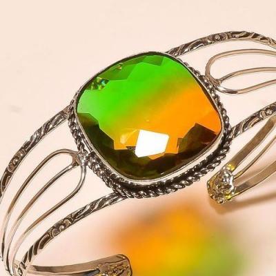 Trm 219c bracelet torque tourmaline ametrine achat vente bijou argent 925 1