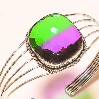 Trm 220c bracelet torque tourmaline ametrine achat vente bijou argent 925 1