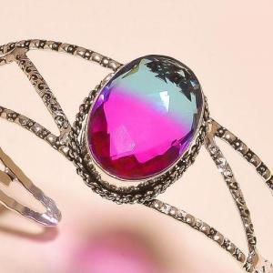 Trm 292b bracelet torque tourmaline ametrine achat vente bijou argent 926