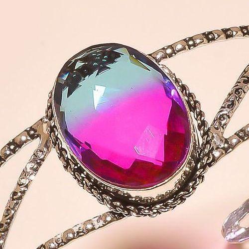Trm 292c bracelet torque tourmaline ametrine achat vente bijou argent 926