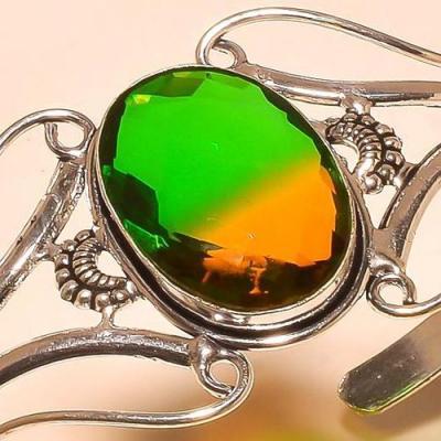 Trm 293c bracelet torque tourmaline ametrine achat vente bijou argent 925