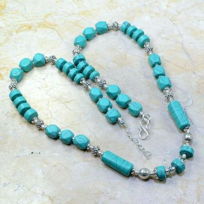 Tur 033a collier parure turquoise achat vente bijou argent 925