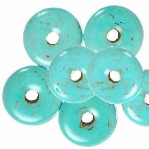 Tur 034b donuts en turquoise bleue achat vente 2