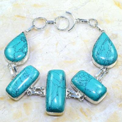 Tur 051a bracelet turquoise achat vente bijou argent 925